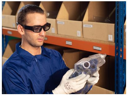 Warehousing AR Glasses Increase Productivity