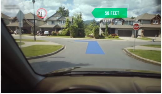 Get there Safer with Augmented Reality mapping for Smart Glasses