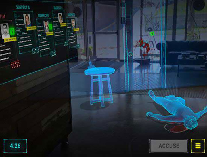 Crime Scene Investigations of the Future with Smart Glasses