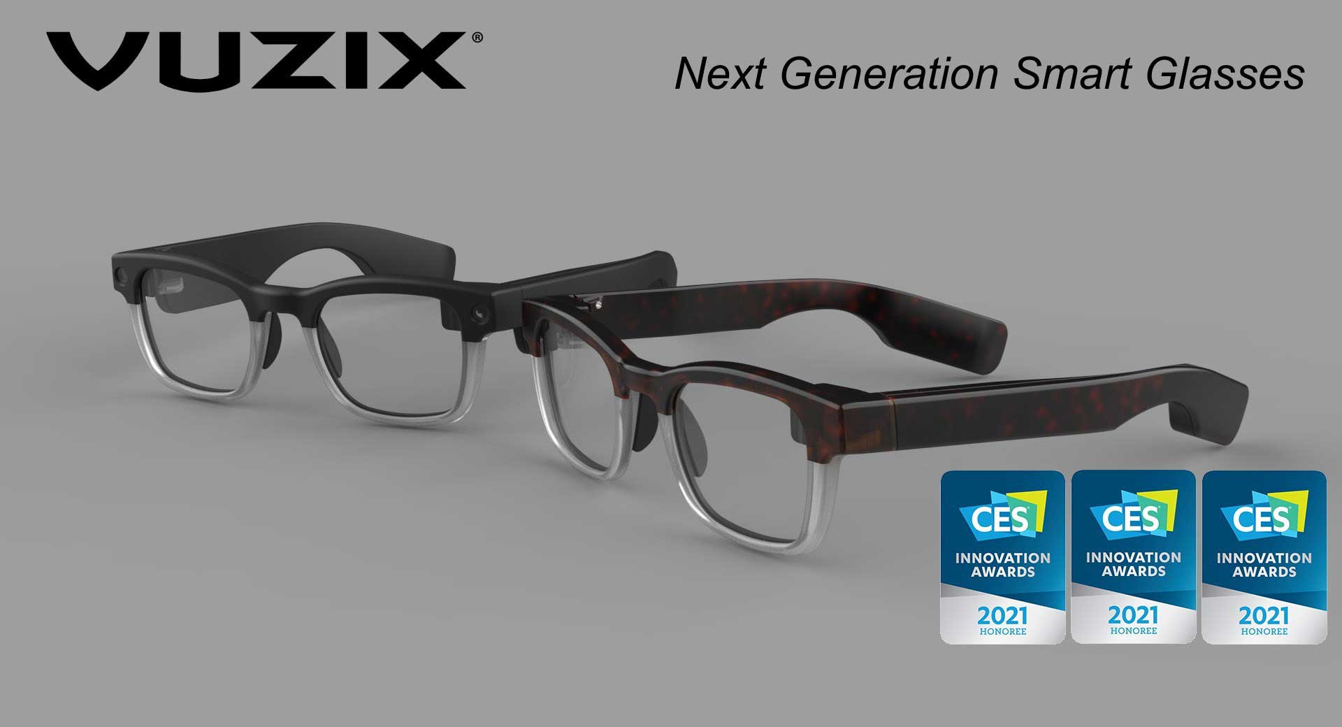 Vuzix Next Gen Smart Glasses Win Big at CES 2021