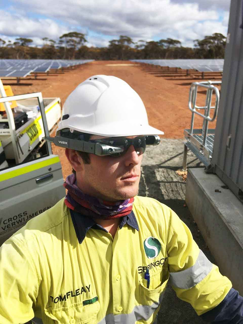 SpringCity Increases Productivity by 40% with M400 Smart Glasses