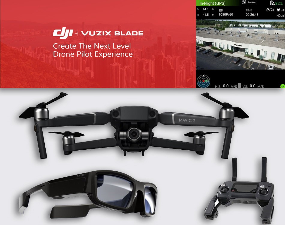 Vuzix Smart Glasses Drone Capabilities Displayed at AirWorks 2019