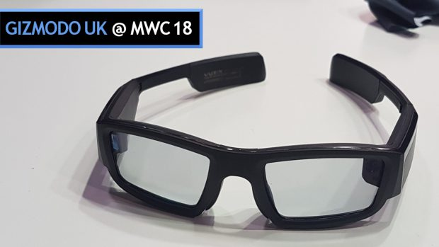 MWC 2018: Holy Crap, Actual Working AR Glasses That Aren't Completely Shit