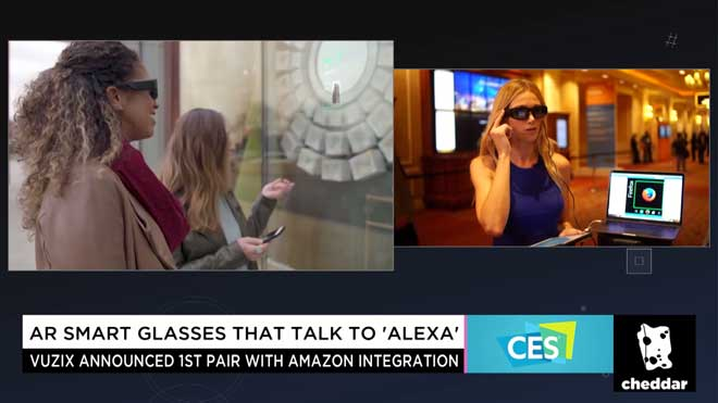 AR Smart Glasses That Talk to Alexa