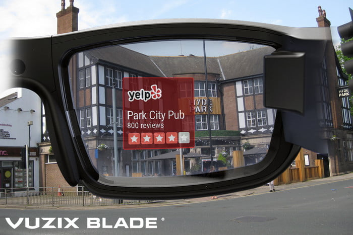 Vuzix Blade seems to be one of the most feature-complete versions of the tech we've seen so far.