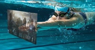 Vuzix Shows Off Smart Swim AR Wearable for Aquatic Athletes