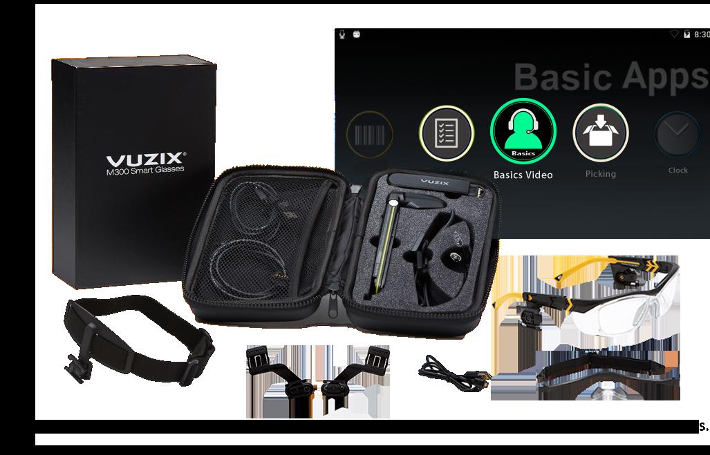 Vuzix Basics™ Video/M300XL Package
