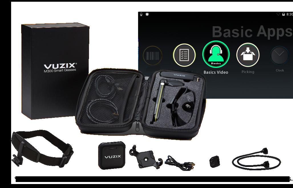 Vuzix Basics™ Video/M300 Package