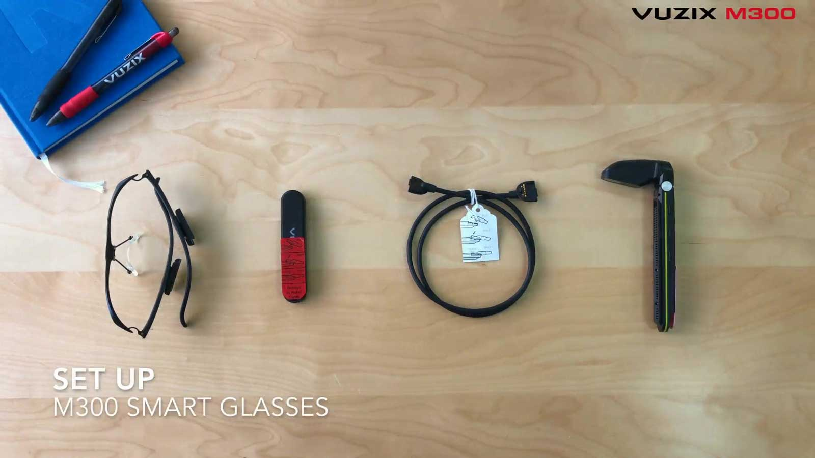 Vuzix M300 Augmented Reality Ar Smart Glasses Otg Cable Wiring Diagram Tutorial Set Up